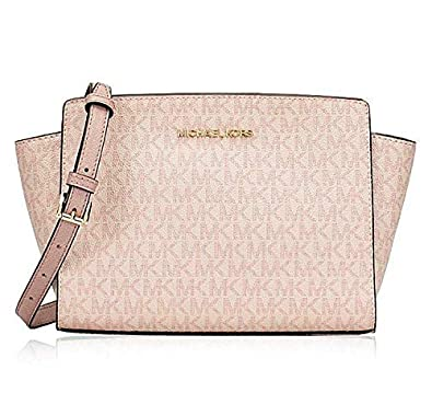 cf3219b256c9 Image Unavailable. Image not available for. Color: Michael Kors Women's  Selma Medium Messenger Crossbody Bag ...