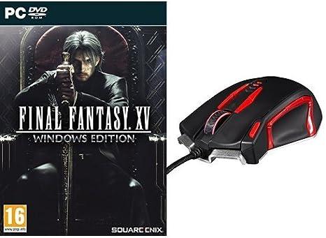 Final Fantasy XV - Windows Edition + Konix Valkyrie - Ratón para ...