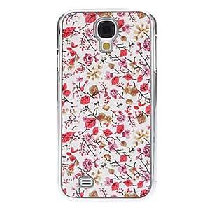 SUMCOM Rose Little Flower Hard Case for Samsung Galaxy S4 I9500