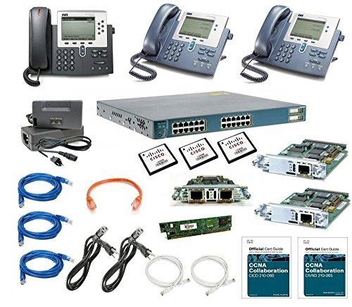 Cisco CCNA Voice Add-On Lab Kit - 210-060 Voice Certification (Best Way To Get Ccna)