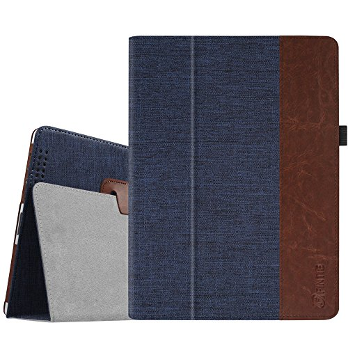 Price comparison product image Fintie iPad 2 / 3 / 4 Case - Slim Fit Folio Stand Case Smart Protective Cover Auto Sleep / Wake Feature for Apple iPad 2,  iPad 3 & iPad 4th Generation with Retina Display - Denim Indigo