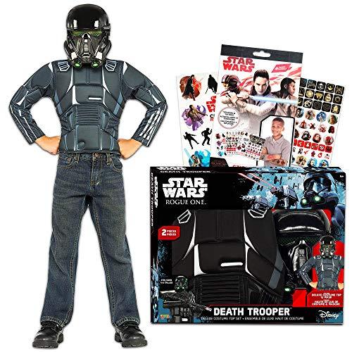 Star Wars Death Trooper Black Stormtrooper Costume for Kids Boys, Small Size 4-6 ()