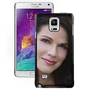 Beautiful Designed Cover Case With Joyce Cooling Girl Face Smile Haircut For Samsung Galaxy Note 4 N910A N910T N910P N910V N910R4 Phone Case