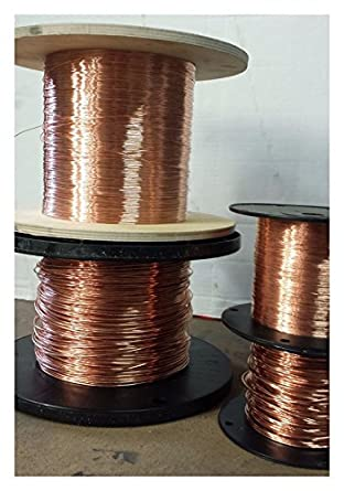 12 AWG Bare copper wire - 12 gauge solid bare copper - 100 ft Top ...