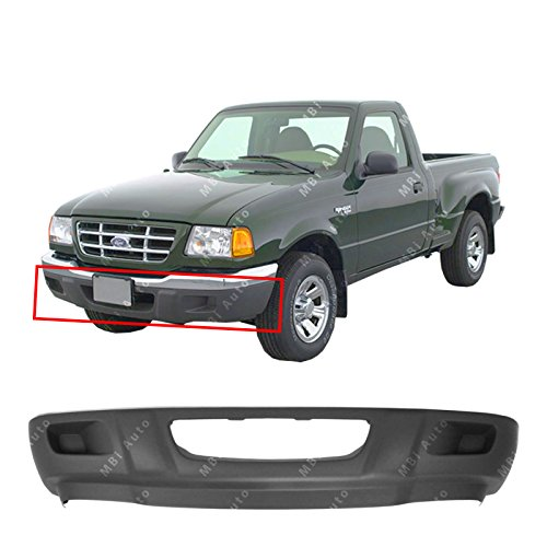 MBI AUTO Textured, Black Front Bumper Lower Valance for 2001-2003 Ford Ranger 01-03, FO1095193 (Ford Ranger Lower Valance)