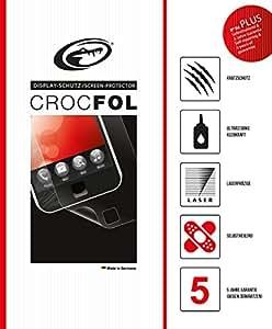 Crocfol Plus 5K HD-Protector de pantalla para el Nokia 6280. Ultra Transparente con selbstheilender superficie (Self de Repair). 3d Touch pantalla para el original Nokia 6280. Fabricado en Alemania.