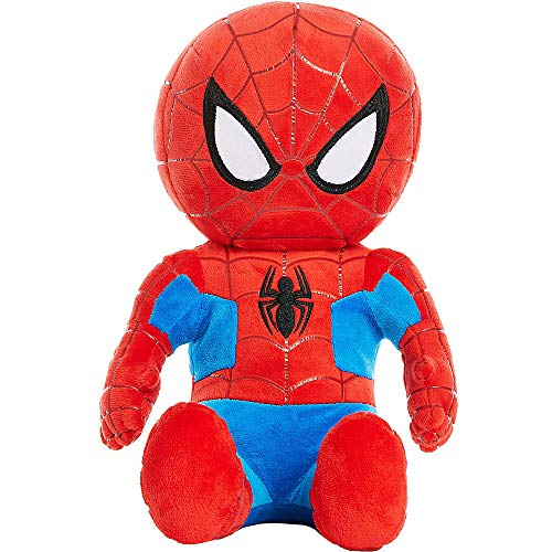 Marvel Spiderman Peter Parker Large 13 Inch Plush Character Stuffed Soft Boys Collectible -