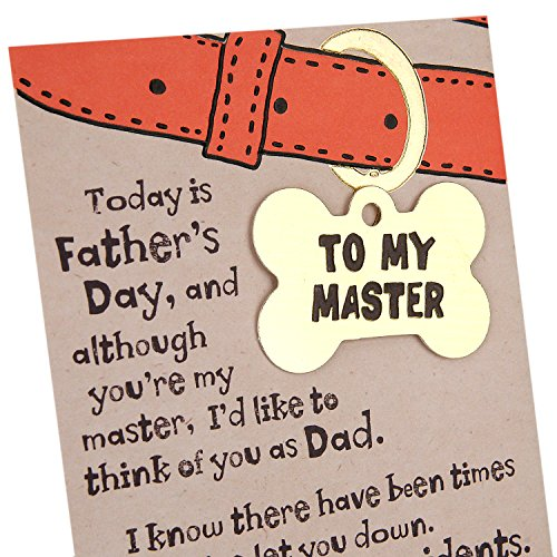 Hallmark Funny Father's Day Greeting Card from the Dog (I'll Never Leave You) Photo #4