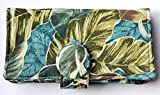 Leaves Tea Bag Wallet,Twelve Pockets,Nothing Falls Out,Secure Hold, Holds up to 20 Tea Bags,Includes 4 Tea Bags,Quilted