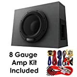 """Pioneer TS-WX1010A 10"""" Sealed Enclosure Active Subwoofer with Built-in Amplifier + Amp Kit"""