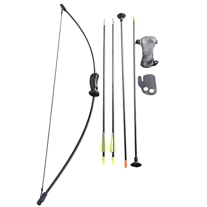 273a41b8929 Image Unavailable. Image not available for. Color  FlyArchery Recurve Bow  Set Bow Arrow Kids Bow Longbow Children Junior Gift Toy Outdoor Game 4
