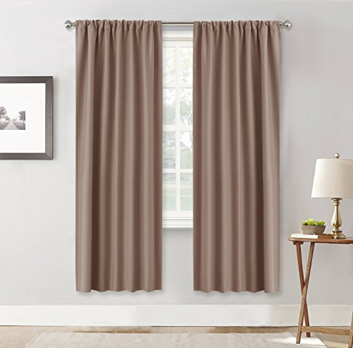 Ryb Home Long Curtains Light Blocking Drapes Window
