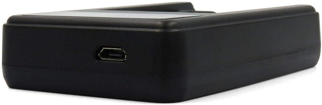 Ixium® Chargeur de Batterie USB avec LCD pour BP 511 Canon