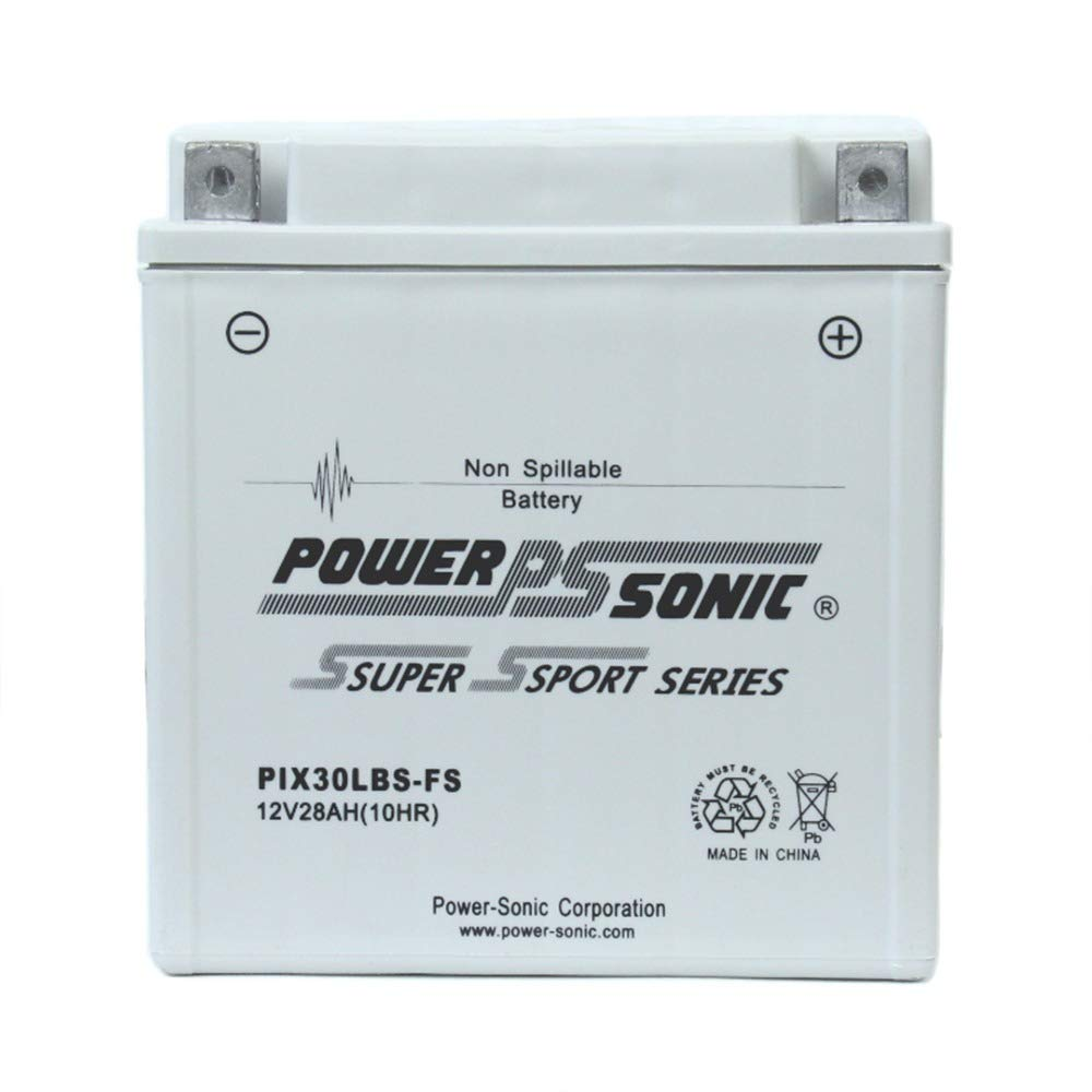 Powersonic PIX30LBS-FS 12V 28AH Battery Replacement for BMW R100/7 76-84