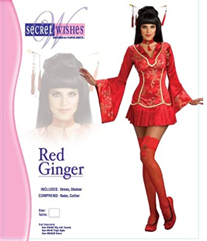 Rubies Costume Red Ginger Ninja Costume L: Amazon.es ...