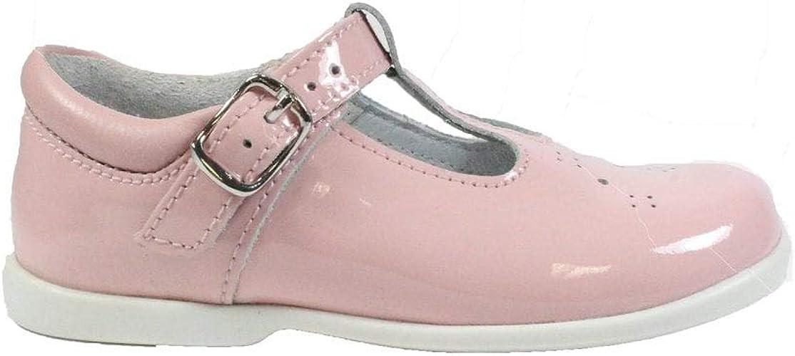 Startrite Swirl Pink Patent Girls T-Bar