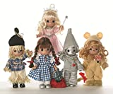 Precious Moments Wizard of OZ Dolls 7'' Full Collection of 5