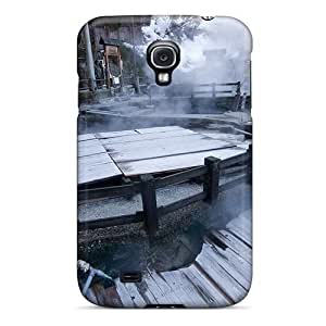 Tpu Case For Galaxy S4 With Covered Hot Springs Japan