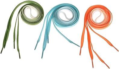 NUOMI 3 Pairs Gradient Shoelaces, Flat