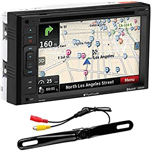 "Planet Audio PNV9645RC Bluetooth, Navigation, Double Din, 6.2"" Touch Screen, DVD/CD/USB/SD/MP3 AM/FM Receiver, License Plate Camera Included"