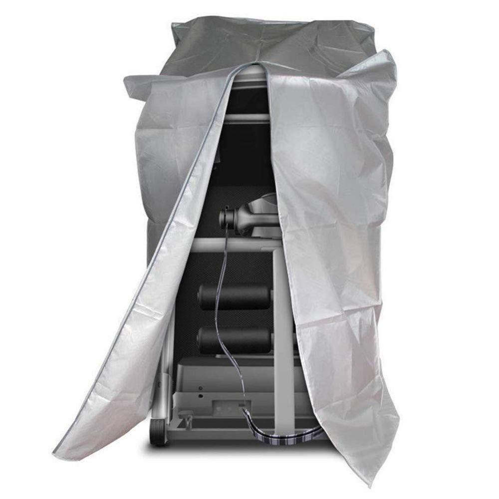 Liul Wasserdicht Plane Laufband Feuchtigkeitsfest Reißverschluss-Staubschutz Schutzhülle Für Den Heimgebrauch,Silber,88 X 79 X 157 cm,Grau-175  79  88cm