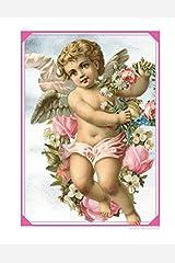 Pink Victorian Angel Cherub Notebook: Journal Paperback