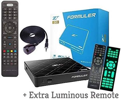 Amazon.com: FORMULER Z7+ 5G 2019 - Tarjeta de memoria RAM ...