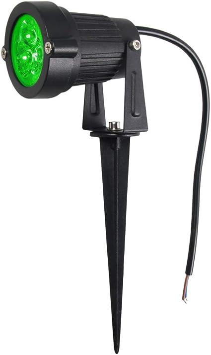 Mini 3W Verde Focos LED IP65 Luces de jardín resistente al agua aire libre Lámparas de césped GO-L01-G: Amazon.es: Instrumentos musicales