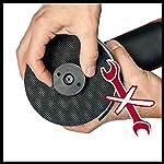 Einhell-Smerigliatrice-Ang-Te-Ag-1251010-Ce-Q-1010-W-Bullone-Quick-Fix-Nut-Regolazione-Elettronica-Numero-Giri-Testa-Porta-Ingranaggi-Piatta-In-Metallo-Protezione-Disco-No-Disco-da-Taglio