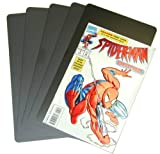 (300) Comic Book Divider Cards - FULL CUT - Black, Heavy Duty 40mil - 7'' x 12'' - #CXNS12BK40