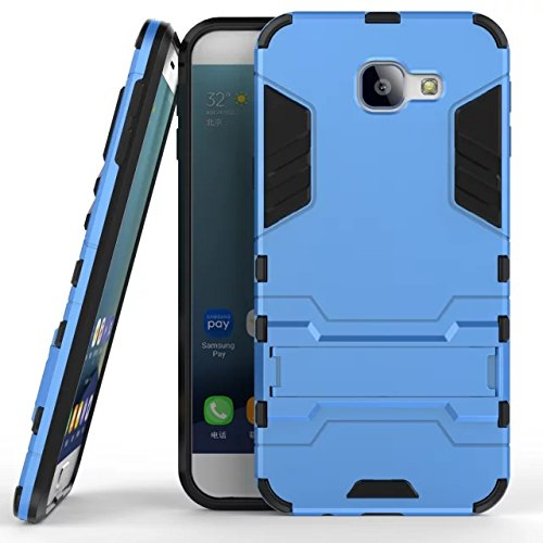 Slim Armor Case for Samsung Galaxy A8 (Blue) - 9