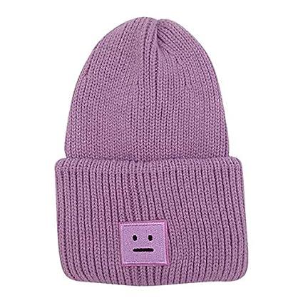 6e20b40c Amazon.com: Lannmart Winter Solid Fashion Hiking Caps Men Women ...
