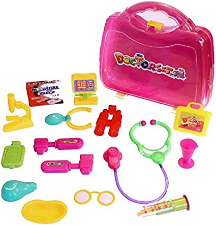 Dazzling Toys Adorable Dolls Doctor Kit. For Any Doll D222