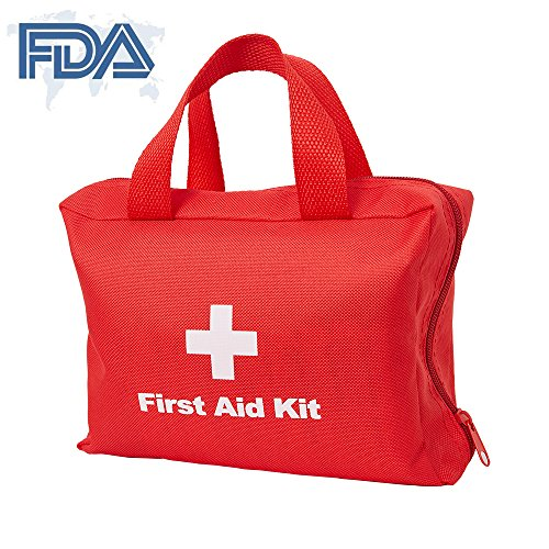 Dporticus 2 in 1 Compact First Aid Kit 90-Piece for Car, Travel, Camping, Home, Office, Sports, Survival | Complete Emergency Bag by Dporticus (Image #6)