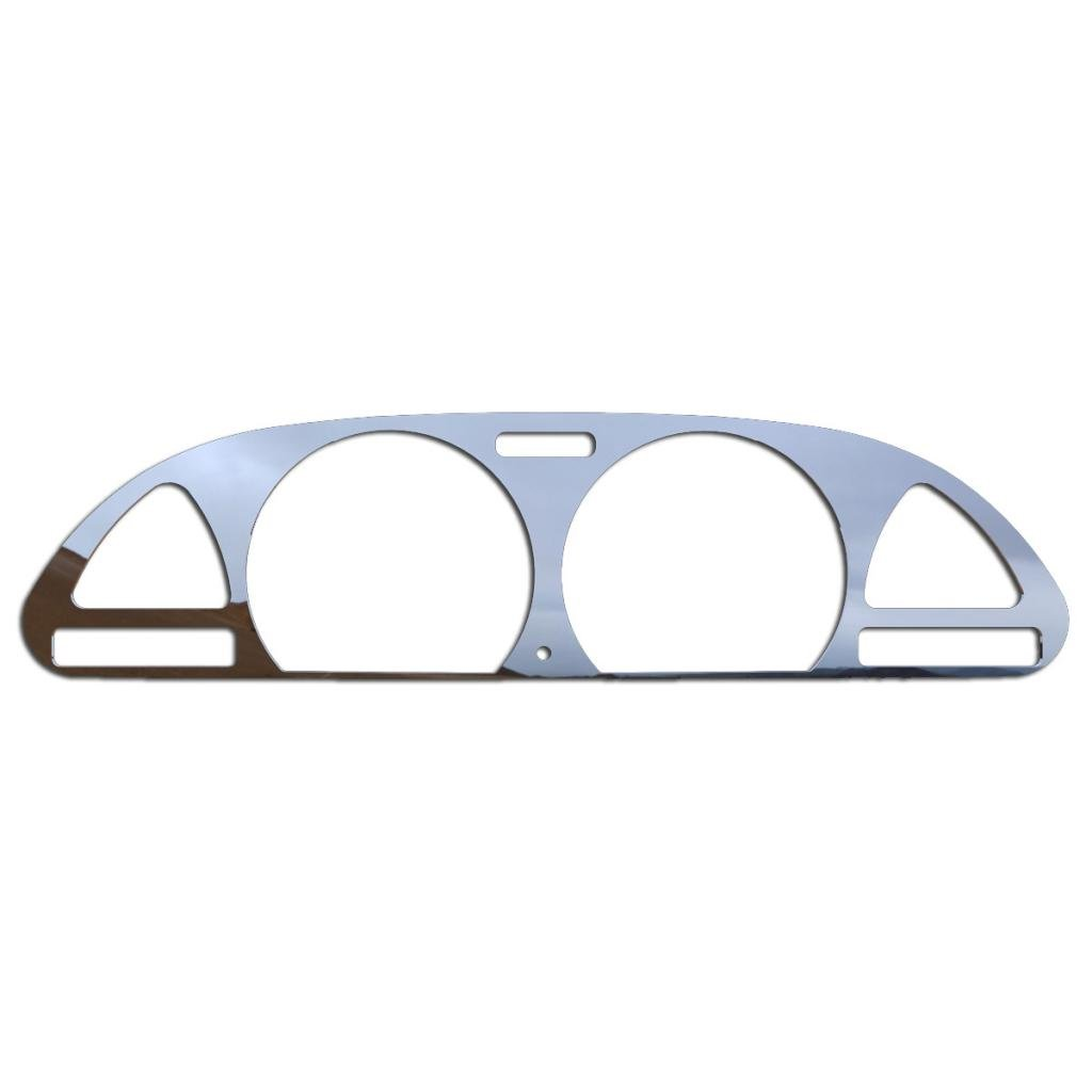 Ferreus Industries Brushed Stainless Gauge Cluster Dash Bezel Trim fits: 1989-1994 Nissan 240SX Analog BZL-244-Brushed-02