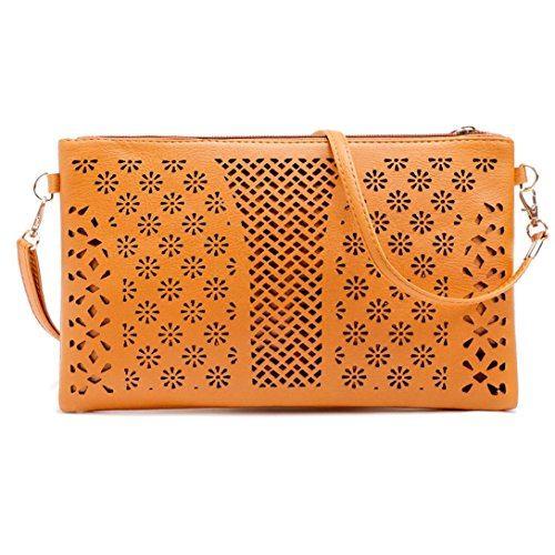 Seat Belt Bag Large Satchel (Ladies Cross Body Shoulder Bag Handbags Large Capacity Bags Brown for Women TOPUNDER I)
