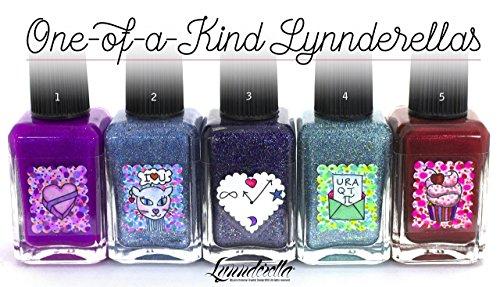 Lynnderella Valentines Day One-of-a-Kind Nail Polishes by Lynnderella