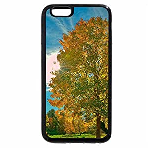 iPhone 6S / iPhone 6 Case (Black) fantasatic autumn sunbeams