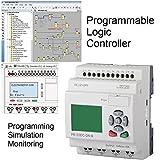 PLC Starter kit Professional Programmable Logic Controller, New IEC standard Programming Software