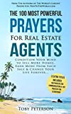 img - for Prayer | The 100 Most Powerful Prayers for Real Estate Agents | 2 Amazing Bonus Books to Pray for Communication & Leadership: Condition Your Mind to Sell More Homes, Earn More From Each Sale & Change book / textbook / text book