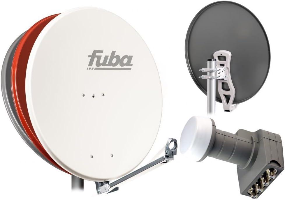 Fuba satélite (Antena Parabólica 4 puertos dal 800 84 x 74 cm ...