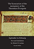 img - for Synaxarion of the Monastery of Theotokos Evergetis: September - February (Belfast Byzantine Texts & Translations) book / textbook / text book