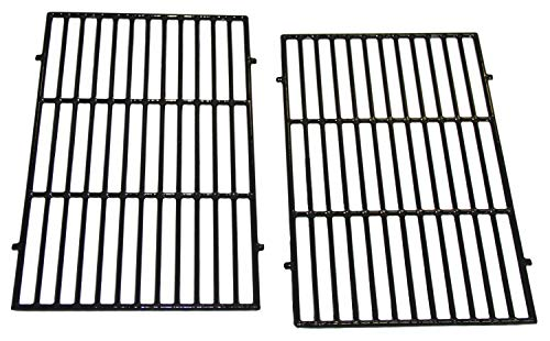 Check Out This VICOOL Porcelain Cast Iron Grill Grates(17.5″ x 11.9″ x 0.5″) for Weber Spirit 300 Series, Spirit 700, Genesis Silver B/C, Genesis Gold B/C, Genesis 1000-5000, 7638 7639 7525 7526 7527, hy7638