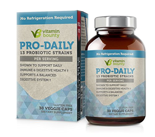 Cheap Vitamin Bounty Pro Daily Probiotic – 13 Probiotic Strains, Delayed Release Capsules