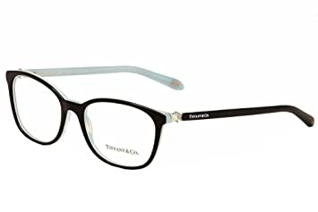 a9faf24c6376 Tiffany Optical 0TF2109HB Full Rim Square Woman Sunglasses - Size 51  (Black Striped Blue