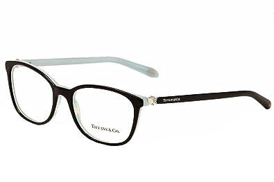 7b345b05cc1 Tiffany   Co. TF2109HB - 8193 Eyeglass Frame BLACK STRIPED BLUE 53mm