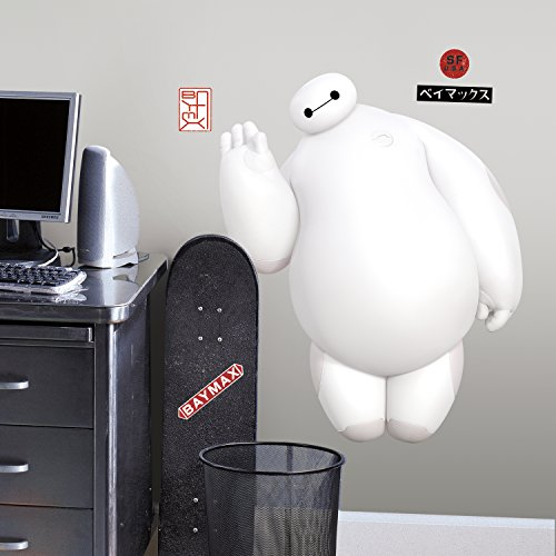 RoomMate Big Hero 6 White Baymax Wall Decals