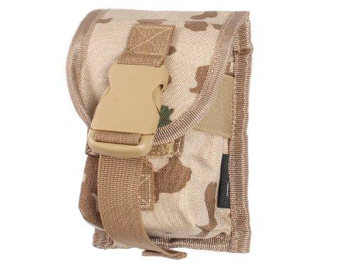 BE-X Magazintasche 7,62mm für MOLLE, für zwei G3/M14/FAL Magazine - BW tropentarn