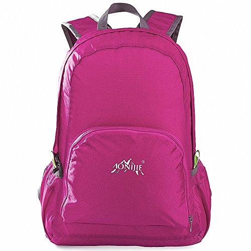 Maoko 25L Packable Light Waterproof Mini School Backpack Travel Backpack- Hiking Daypacks/Travel Daypack Rose