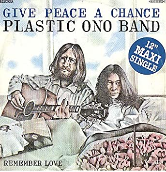 Image result for plastic ono band give peace a chance images